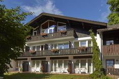 Aussenansicht auf  H+ Hotel Alpina Garmisch-Partenkirchen