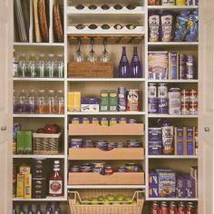 Essential Elements To Design Walk in Kitchen Pantry Ideas