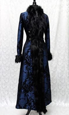 Shrine of Hollywood - Rock Couture, Gothic Clothing, Victorian Clothing, Punk Clothing, Steampunk Clothing Victorian Coat, Victorian Fashion, Gothic Fashion, Gothic Coat, Mode Baroque, Fantasy Dress, Gothic Outfits, Steampunk Fashion, Costume Design