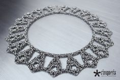 Chainmaille Necklace Cleopatra - Cinquefix