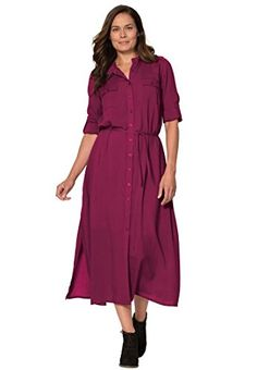 8872e5855b9af awesome Women s Plus Size Maxi Shirt Dress Long Dresses 2017 Long Dresses  2017