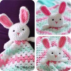 Lovey Crochet Bunny Free Pattern.