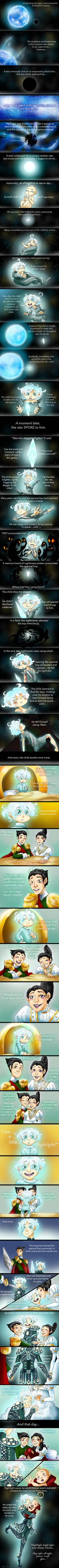 An AU where Jack Frost is an invisible spirit who cannot even be seen by other spirits like himself.... all except for Pitch. ~~~~ The boogieman walked through the woods of who knows where at...
