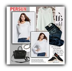 """""""Persun"""" by water-polo ❤ liked on Polyvore featuring moda, Arco, True Religion i persunmall"""