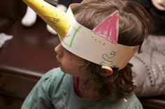"""unicorn crafts for preschoolers   We played pin the """"horn"""" on the unicorn."""