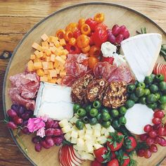 Cheese plate of our dreams by @valleybrinkroad for our #FEEDsupper! @feedprojects @westelm