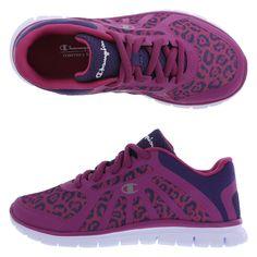 Girls' Gusto RunnerGirls' Gusto Runner, Berry Leopard