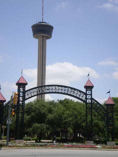 Tower of the Americas in Hemisphere Park.