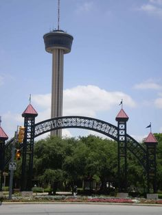 Tower of the Americas in Hemisphere Park.