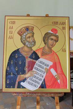 Byzantine Icons, Byzantine Art, Greek Icons, Russian Icons, Orthodox Christianity, Art Icon, High Art, Believe In God, Orthodox Icons