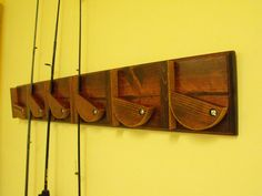 Fishing Pole Holder - Wall Mounted
