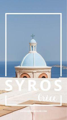 SYROS, Grèce : Retrouvez tous mes conseils et mes bonnes adresses pour découvrir les villes Ano Syros et Ermoupoli sur l'île de Syros en Grèce #syros #island #greece #grece #visit #travel #blogger #blogtrip #blog #trip #seaside #sea #cityguide #citytrip #tips #sightseeing #culture #greekislands Greece Photography, Travel Goals, Greece Travel, Greek Islands, Taj Mahal, Sailing, Trips, Culture, Explore