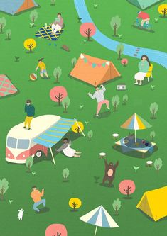 season on Behance Art And Illustration, Illustrations And Posters, Character Illustration, Graphic Design Illustration, Graphic Art, Isometric Design, Of Wallpaper, Character Design, Web Design