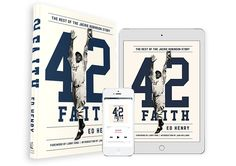 42 Faith - A New Book by Ed Henry Book Lovers Gifts, Gift For Lover, Jackie Robinson, Larry, New Books, Faith, Gift Ideas, Loyalty, Believe