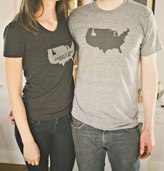 Idaho is a State American Apparel tshirt by FawnandFoal   <3 my home state