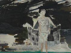 Kevin A. Rausch - The Beaver - 2012-2016, 30 x 40 cm, MT auf Holz