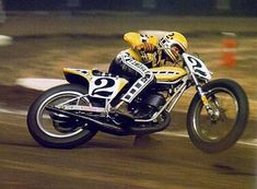 "King Kenny was, and always will be ""the man"". Here he is drifting the rear with the front wheel in the air. Try to wrap your brain around that..."