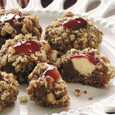 White Chocolate Raspberry Thumbprints Recipe   Taste of Home Recipes