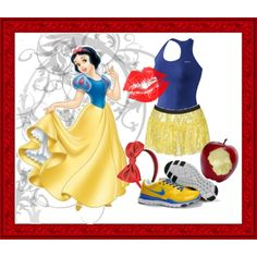 Disney Princess Marathon outfits!!!! Catherine and me will come in first!