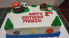 Amy's Crazy Cakes - Sports Cake