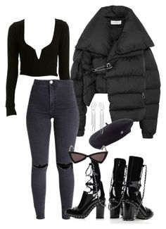 """Untitled #308"" by slaycia ❤ liked on Polyvore featuring Marques'Almeida, Chanel, Yves Saint Laurent and Jennifer Fisher"