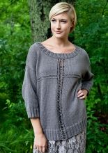 Rabbet Intersecting Lines Pullover:#knit #knitting #free #pattern #freepattern #freeknittingpattern #knittingpattern