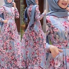 Shop this dress and more from the stores listed on the blog www.hijabfashioninspiration.com/turkish-hijab-gowns LINK IN BIO