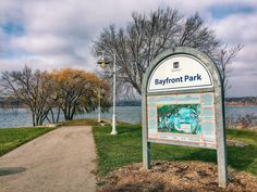 Trails at Bayfront Park in Hamilton