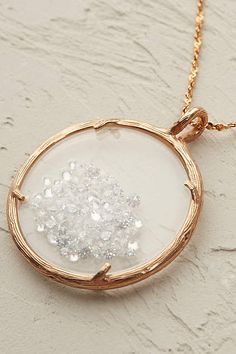 Snow Crystal Necklace - anthropologie.eu