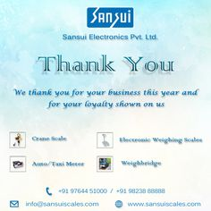 Thank You very much for your valuable Association- Sansui Electronics PVT,LTD  www.sansuiscales.com  #Electronicweighingscales  #Weighbridges #Taximeter #Jewelleryscales Jewelry Scale, Weighing Scale, Taxi, Electronics, Scale, Virgos, Libra, Balance Sheet, Consumer Electronics