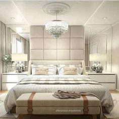 31 Ideas For Bedroom Master Ideas Awesome Master Bedroom Interior, Luxury Bedroom Design, Bedroom Furniture Design, Master Bedroom Design, Home Bedroom, Bedroom Sets, Bedroom Decor, Interior Design, Trendy Bedroom