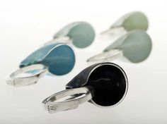 Contemporary Jewellery Designers, Silver Jewellery, Cufflinks, Enamel, Jewelry Making, Handmade, Accessories, Beautiful, Collection