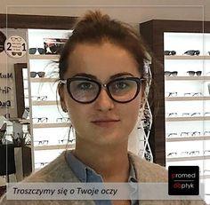 Nasza praca jest przyjemna 😍😍😍 Pozdrawiamy Panią Paulinę. #optyk #optometrysta #okulary #styl #wzrok
