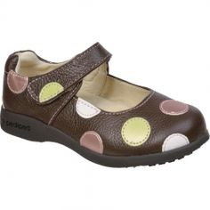 pediped® Giselle Chocolate Brown Mary Jane - Candy Shoes ltd Kid Shoes, Cute Shoes, Girls Shoes, Baby Shoes, Brown Casual Shoes, Little Girl Shoes, School Shoes, Girls Sandals, Bebe