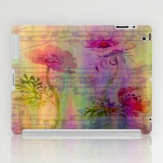 Music In The Air iPad Case by Judy Palkimas - $60.00