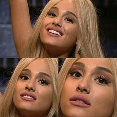 When someone tells a joke about blondes  #arianagrande