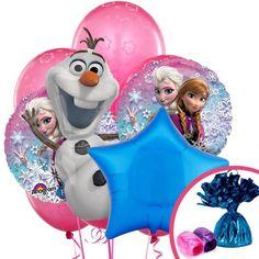 original fiesta con Frozen la princesa disney