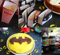 gateau batman superhéros anniversaire fête super héros comics