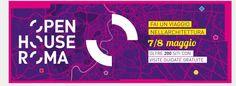 Open House Roma 2016 Da oggi è possibile prenotarsi per le visite guidate gratuite di Roma Open House 2016: saranno aperti al pubblico oltre 170 edifici, verranno organizzati 50 eventi e tour guidati, molti in luoghi normalmente chiusi al pubblico. Se, come me, siete appassionati di arte, architettura e design e siete dalle parti di Roma  il 6 e il 7 maggio, è una di quelle occasioni davvero da non perdere! http://bussoladiario.com/2016/04/open-house-roma-2016.html