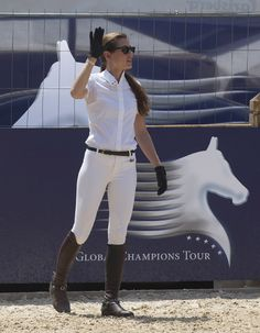 Galloping in Gucci: Charlotte Casiraghi Rides in Style: 2012 Global Champions Tour