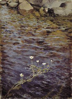 Pond Water Crowfoot, 1895, Eero Järnefelt. Finnish (1863 - 1937)