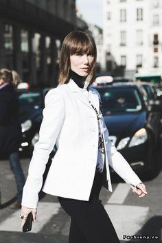 Paris Fashion Week осень-зима 2015-2016 - street style