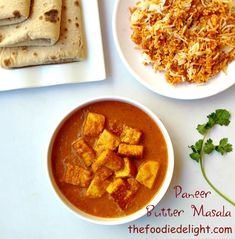 Paneer Butter Masala by The Foodie Delight