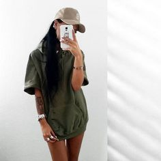 Jumpsuit | Cropped hoodie, tumblr Outfits and Baddies