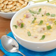 """Corn Chowder-one of many recipes for this..what would you expect from a """"Cornhusker""""  GBR"""