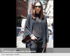 Camiseta preta transparente: A queridinha do próximo verão: http://mantostore.blogspot.com.br/2013/07/camiseta-preta-transparente-queridinha.html