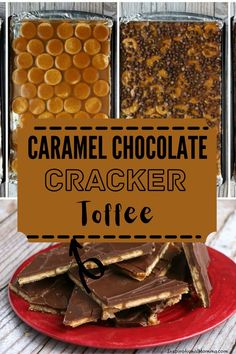 This delicious toffee is made with simple ingredients and takes very little time and effort. And it's so good! #ritzcrackers #crackertoffee Chocolate Toffee, Melting Chocolate Chips, Chocolate Caramels, Cracker Toffee, Ritz Crackers, Holiday Recipes, Party Recipes, Barbecue Recipes, Pinterest Recipes