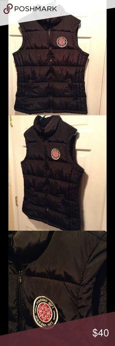 MADDEN GIRL WINTER VEST JACKET In like new condition never worn, size L. ❤️MADDEN GIRL. COLOR: Black Madden Girl Jackets & Coats Vests