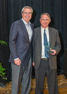 Daniel Turpin and Dave North, President & CEO of Sedgwick