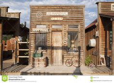 Photo about Western US Jail and Marshall s Office, Ridgway, Colorado. Image of american, photography, jail - 35471741 Western Saloon, Western Theme, Western Decor, Ridgway Colorado, Old Western Towns, Old West Town, Building Front, Western Parties, Ghost Towns